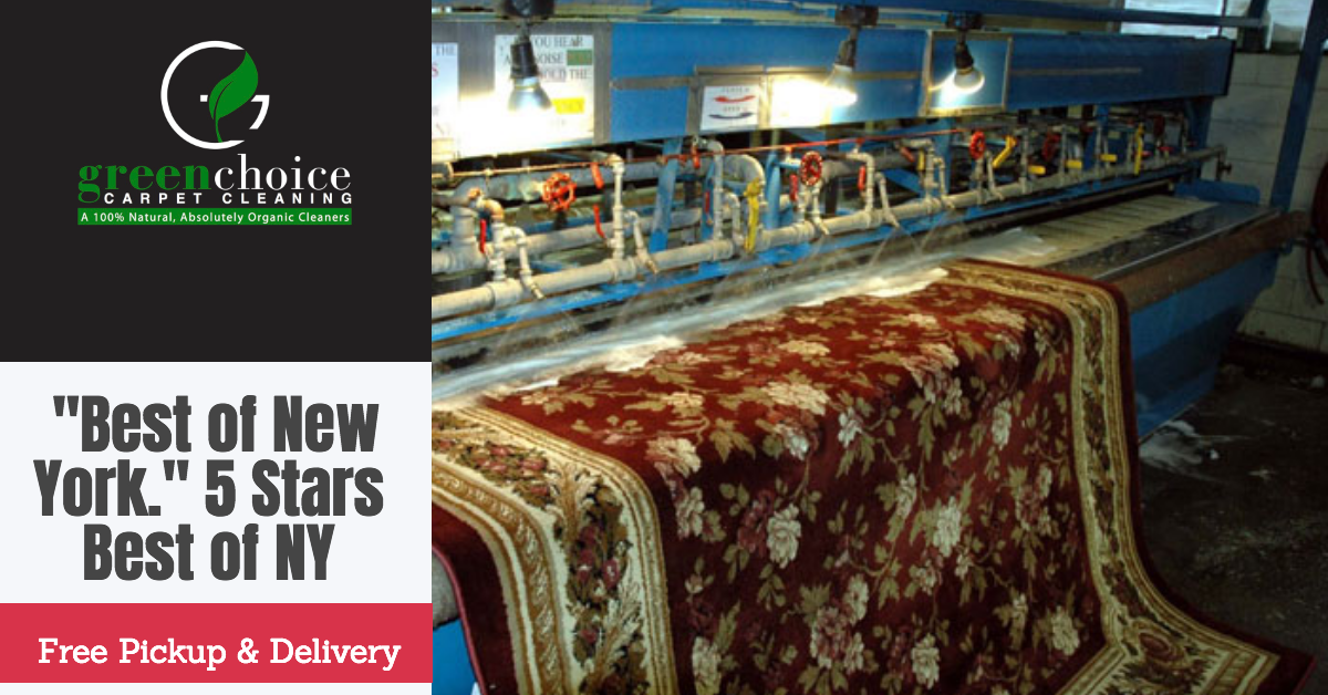 Rug Cleaning Nyc Free Pick Up Delivery